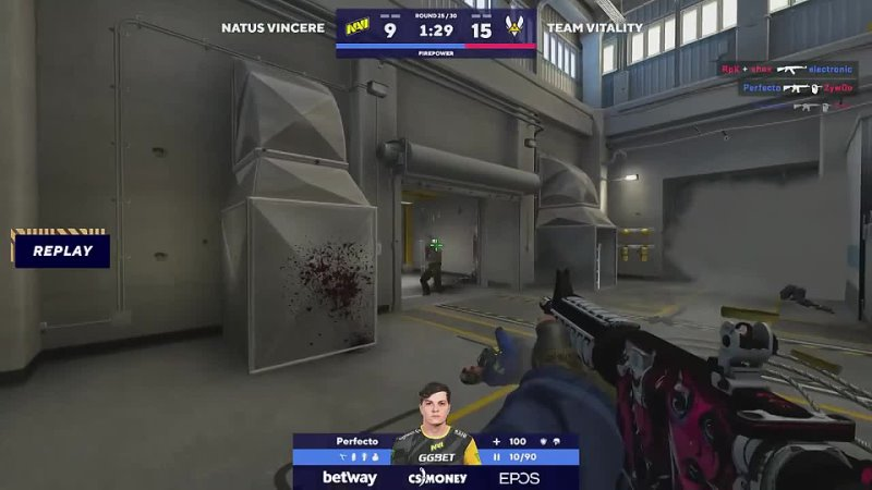 Boombl4 gorit NaVi clip