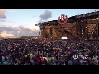 Hardwell feat. Deorro x MAKJ - Left Right (Fedde Le Grand playing at Ultra Music Festival UMF Miami) (ft vs)