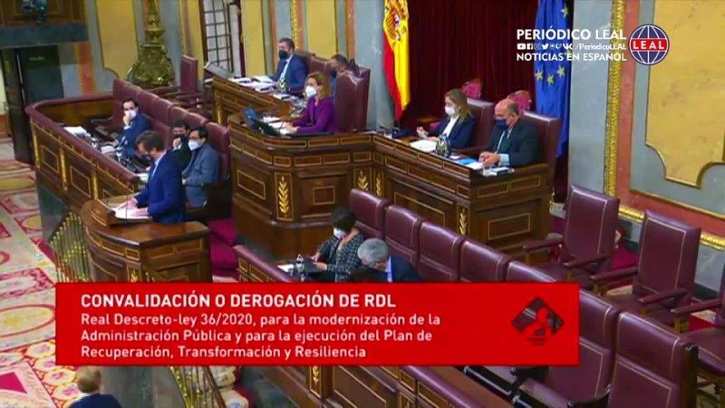 Iván Espinosa de los Monteros VOX Intervención en el Congreso de los Diputados 28 ene 2021
