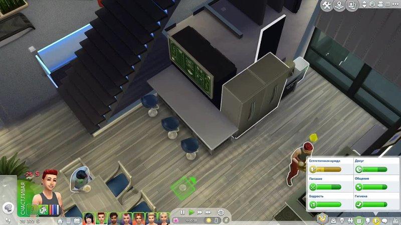 Dariya Rain ПОЧТИ ДОМ 2 The Sims 4 Симс 4 ПОХУДЕЙКА Серия 5