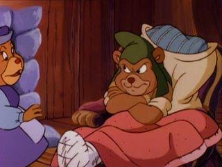 Приключения мишек Гамми | Adventures of the Gummi Bears - Хорошие соседи Гамми (8 Серия, 4 Сезон)