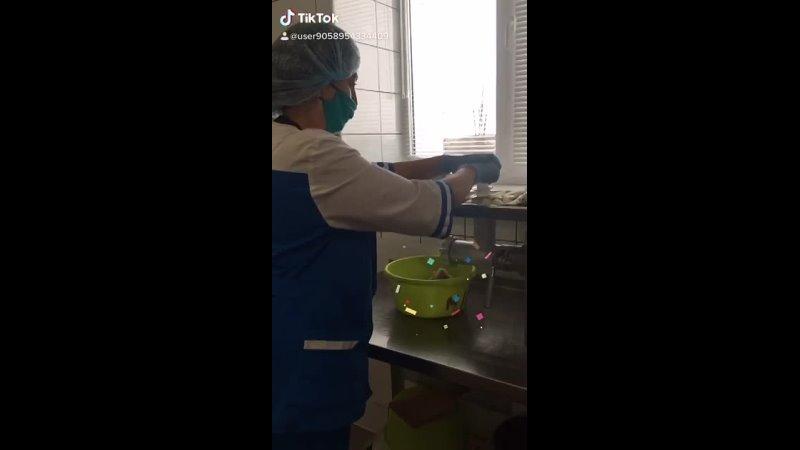 Рабочие моменты в столовой Кочетовской СОШ 2021