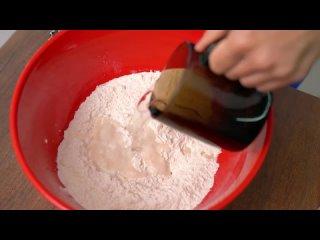 [Alina FooDee] Всего лишь ВОДА + МУКА = Вы удивитесь, как ЭТО ПРОСТО приготовить! Слоеные лепешки на сковороде