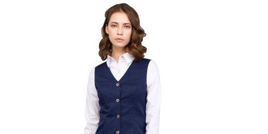 f3ecb7c9fa6 Купить жилеты - женская одежда для отелей у производителя Кузьмин