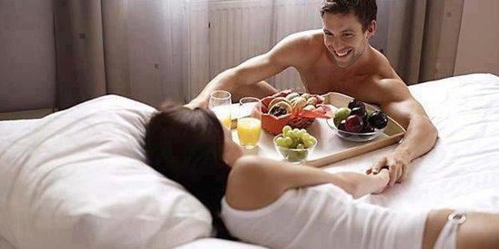 Гифы кофе в постель любимой