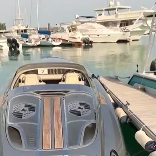 Porsche Speed Boat