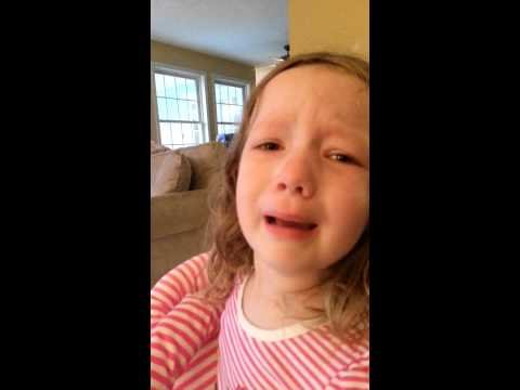 Little girl devastated that she won't meet George