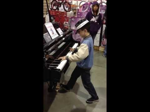 lost child in costco turns out to be musical whiz! part 2