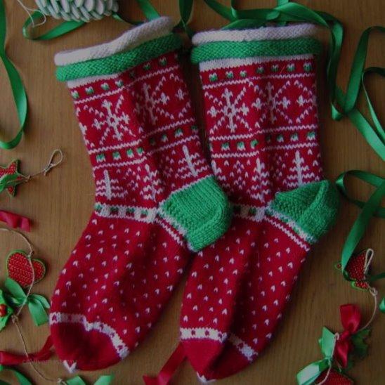 Как делаются носки