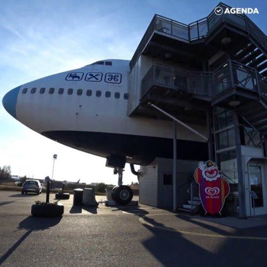 Отель в самолёте