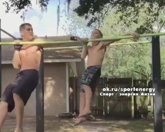С детства в спорте