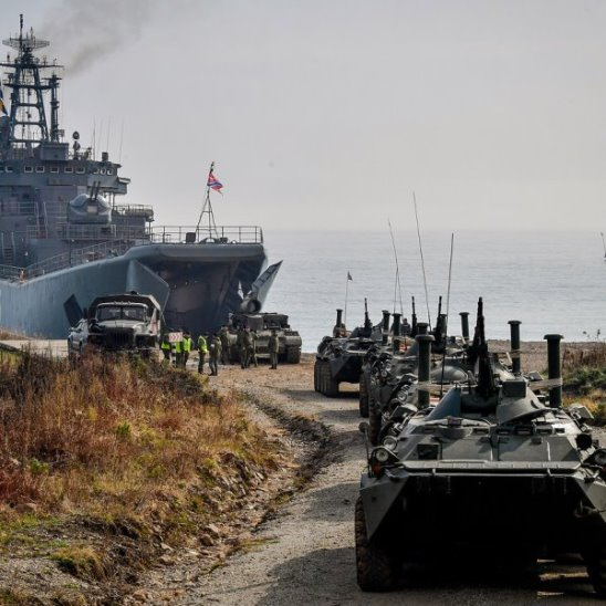 Военные учения «Восток-2018»