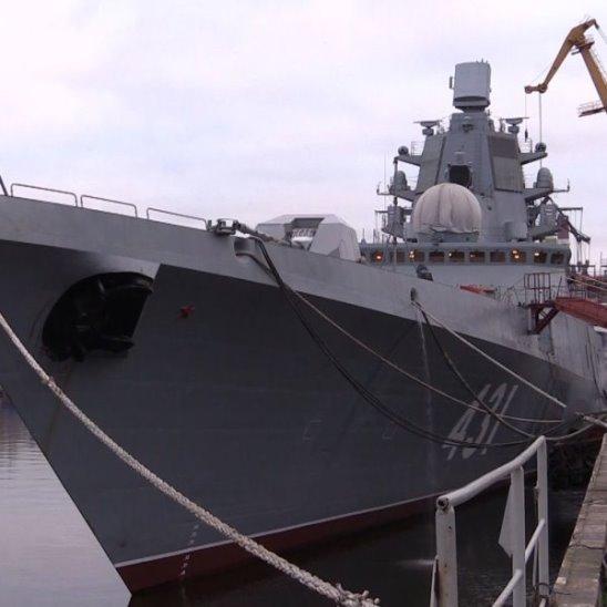 """Фрегат проекта 22350 """"Адмирал Касатонов"""""""