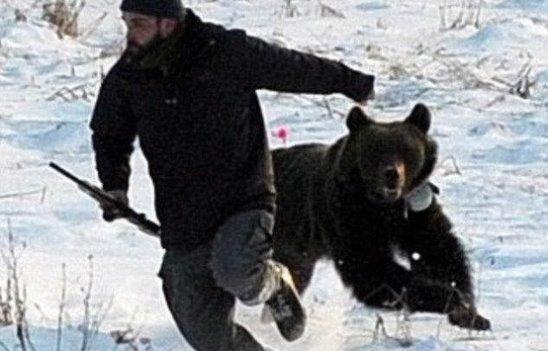 Охота на медведя. Смешной рассказ охотника. Внимание - ненормативная лексика (+18)