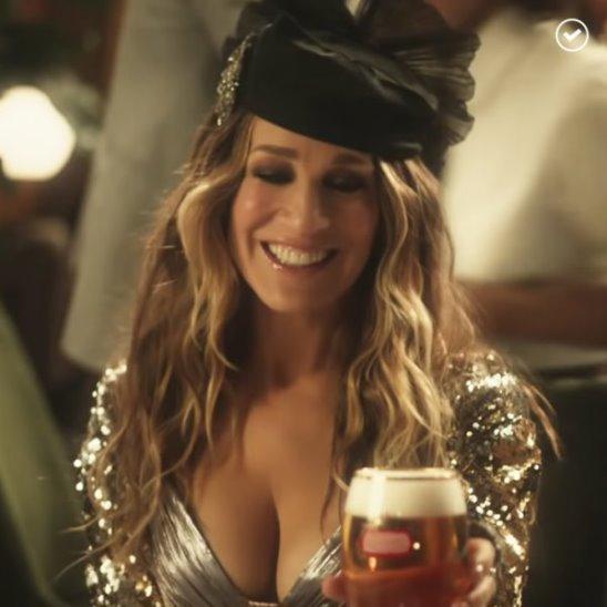 Кэрри Брэдшоу променяла «Космополитен» на пиво