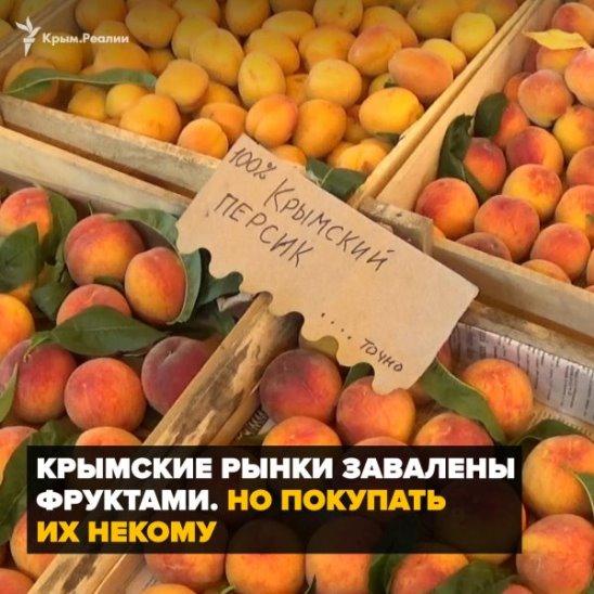 Что происходит с фруктами на крымских рынках