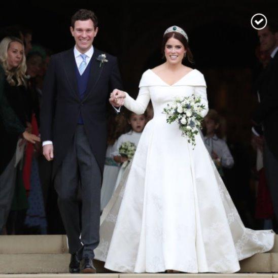 Внучка королевы Елизаветы II вышла замуж