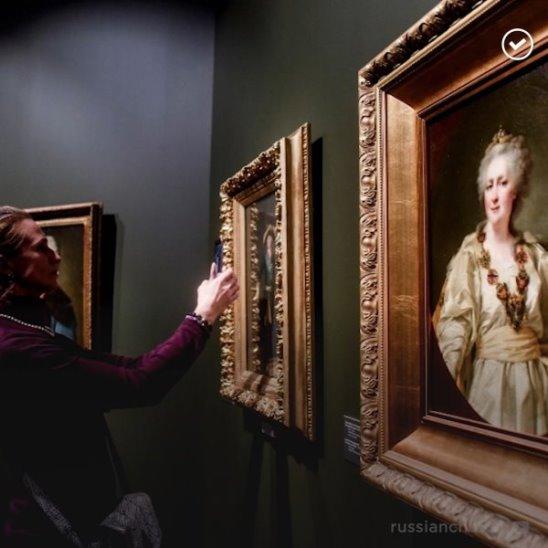 Выставка Сокровища музеев России