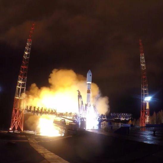 """Разгонный блок """"Фрегат"""" успешно вывел на орбиту спутник """"Глонасс-М"""""""