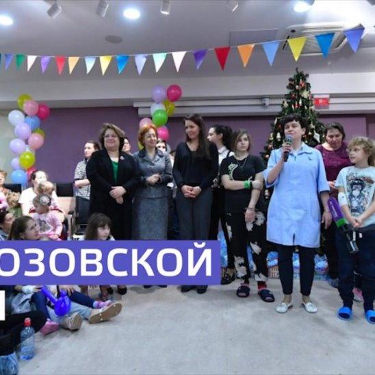 «Ёлка мэра» в Морозовской больнице