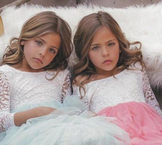 Самые красивые близняшки в мире