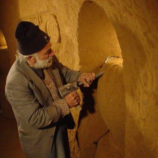 Канал «BBC» рассказал о подземном храме Левона Аракеляна