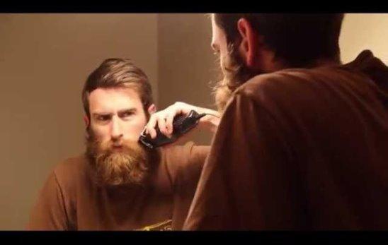 Реакция на сбритую бороду отца