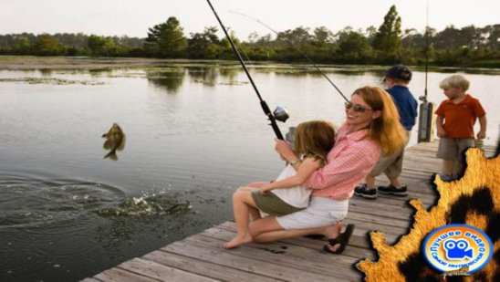 Учитесь ловить рыбу господа