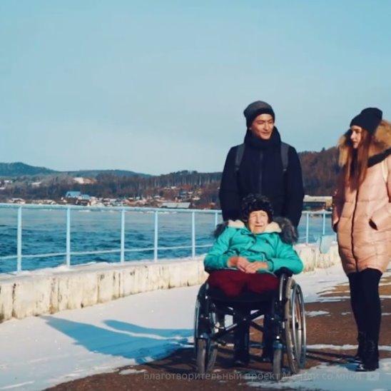 Волонтеры исполнили мечту Нелли Ивановны
