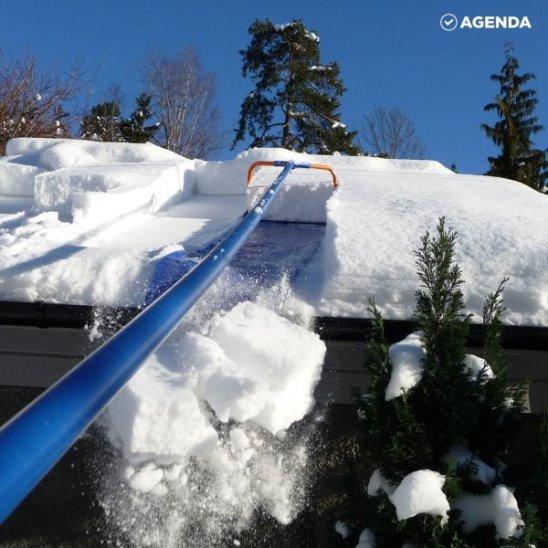 Это хитроумное устройство спасет вашу крышу от зимы