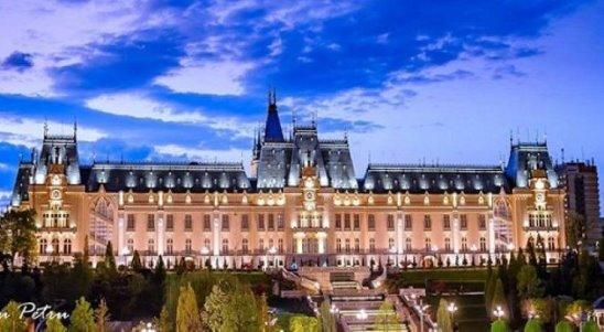 Unul dintre cele mai frumoase orașe IAȘI !! Palatul Culturii din Iași