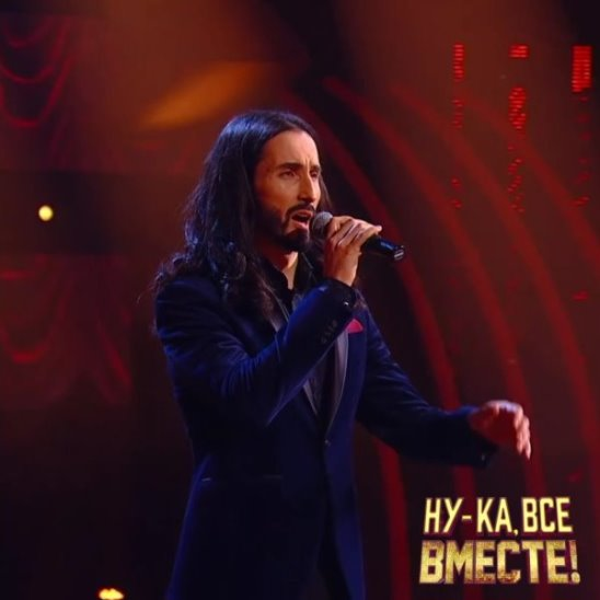 Участник шоу «Ну-ка, все вместе!» Илья Римар исполнил песню «Памяти Карузо».