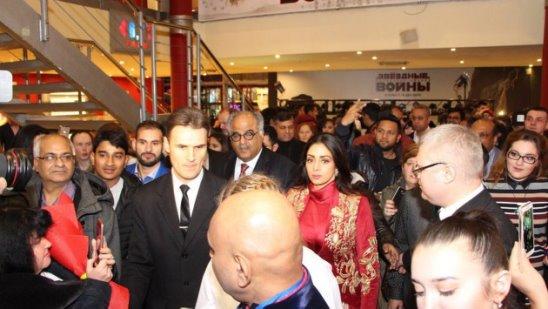 Шридеви и Бонни Капур в Москве в рамках фестиваля индийского кино MacCoffee Bollywood Film Festival 2017 представили фильм Мама
