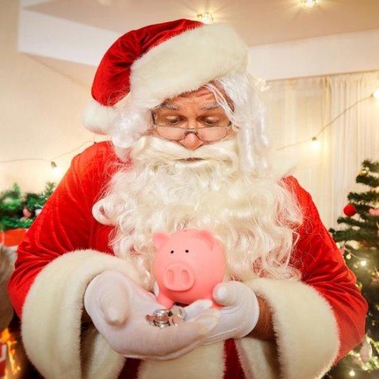 Новогодние подарки и акции Сбербанка