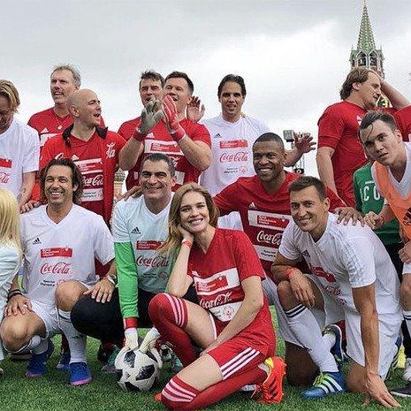Благотворительный матч со звездами футбола