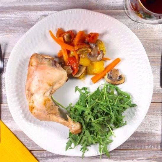 Курица в конверте от Woman.ru