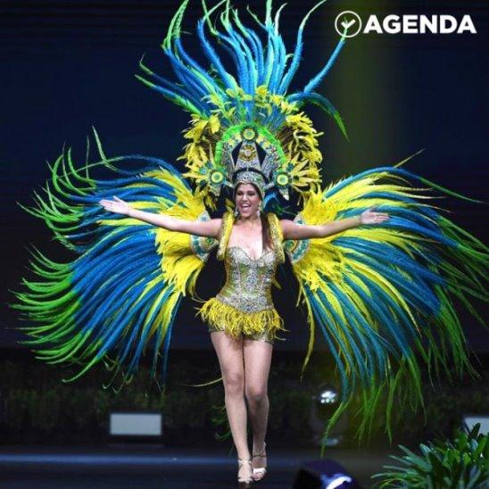Потрясающие наряды на конкурсе «Мисс Вселенная-2018»