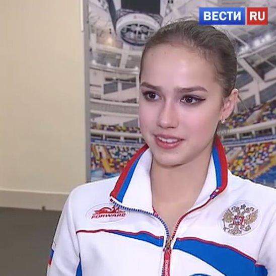 Алина Загитова с мировым рекордом выиграла короткую программу на Гран-при России. Болеем за наших сегодня! 🇷🇺️