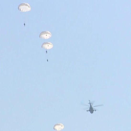 Совместные российско-белорусские военные учения