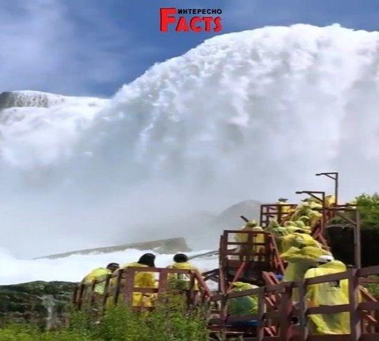 Восхитительный Ниагарский водопад!