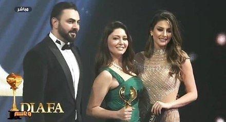 Вручение награды Нургюль Ешилчай - «Лучшая актриса» от «DIAFA».