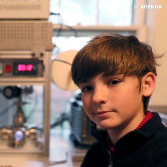 Мальчик сделал ядерный реактор
