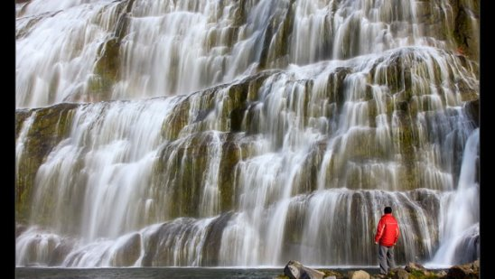 Диньянди или Фьядльфосс — самый красивый водопад в Исландии