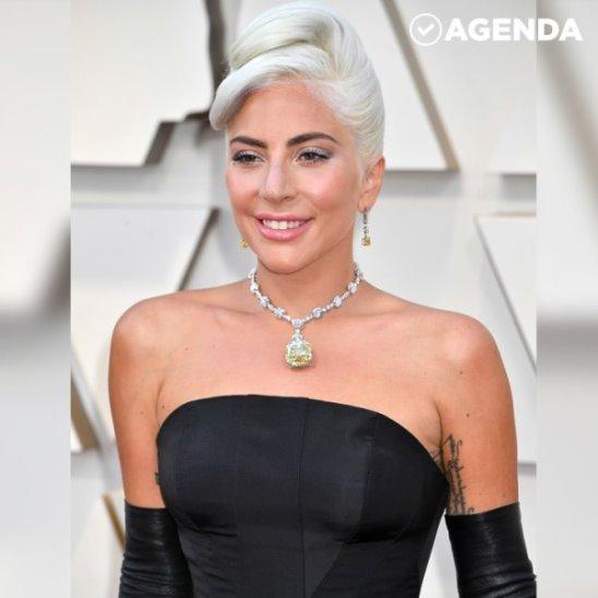Леди Гага: Легендарный жёлтый бриллиант на «Оскаре»