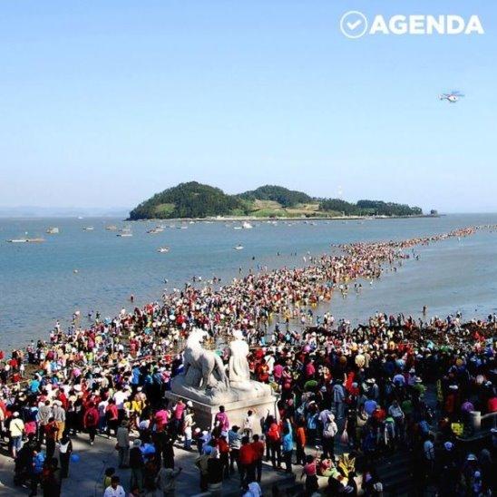 Моисеево чудо на острове Чиндо