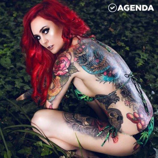 Жительница Австралии терпит издевательства из-за татуировок