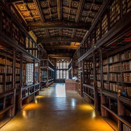 Фантастическая библиотека из фильмов Гарри Поттера
