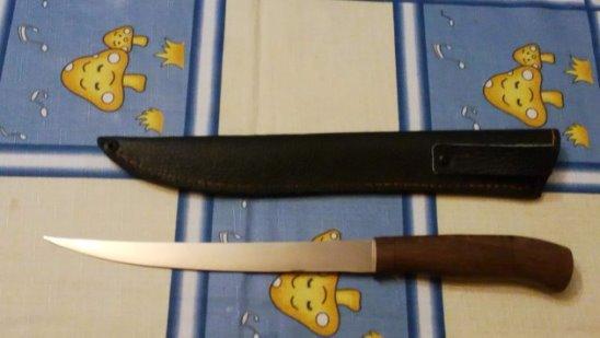 Филейный нож Осетр со сборной ручкой