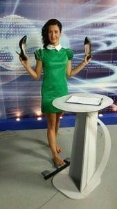 Ведущая телеканала СТС-Кузбасс Кристина Баянова взорвала Инстаграм