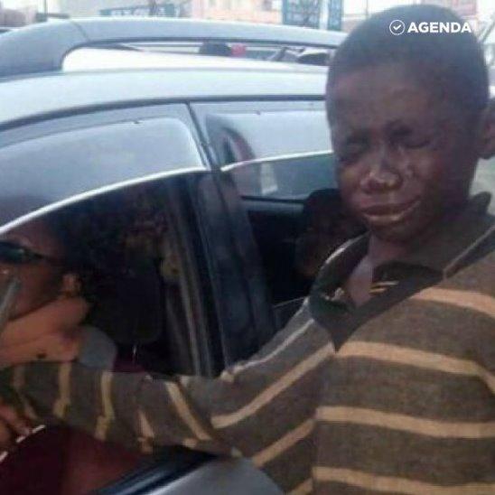 Бездомный мальчик помог больной женщине и изменил судьбу.